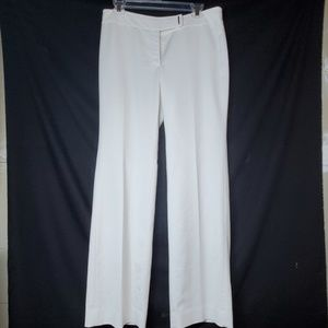 White House Black Market Women's White Trousers